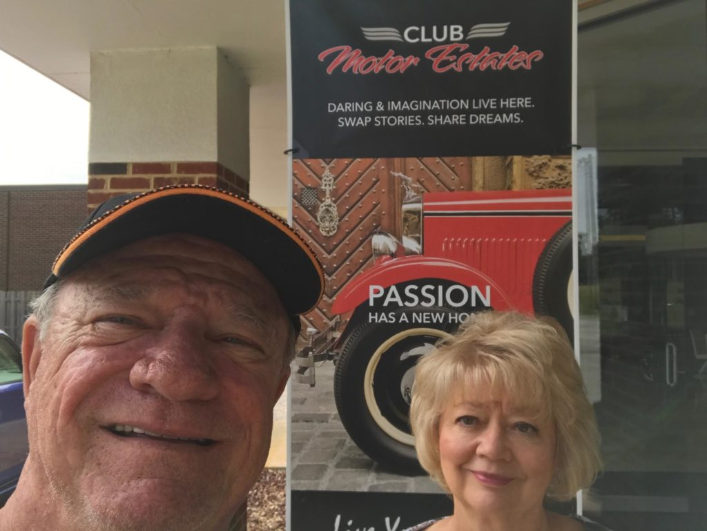 The best place to be...Club Motor Estates